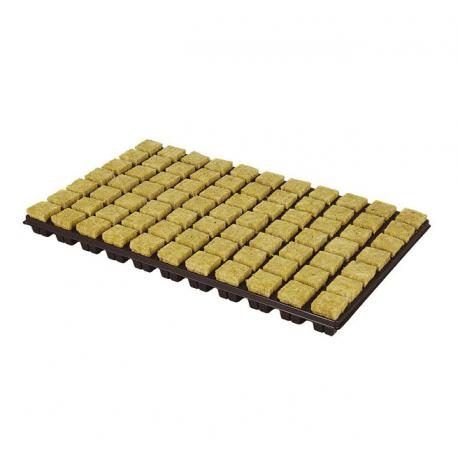 plaque 77 cubes de laine de roche de 3 7 x 3 7 cm. Black Bedroom Furniture Sets. Home Design Ideas