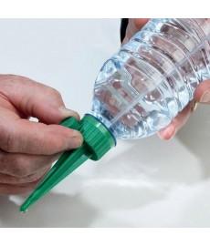 Adaptateur irrigation sur bouteilles.